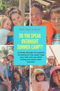 Do you speak Summer Camp?