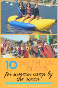 Summer Camp by the Ocean Essentials